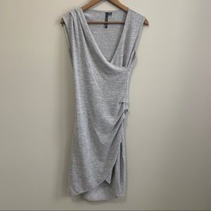 La Classe Couture Grey Dress